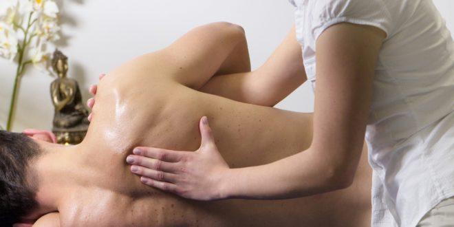 Massage profond pour homme